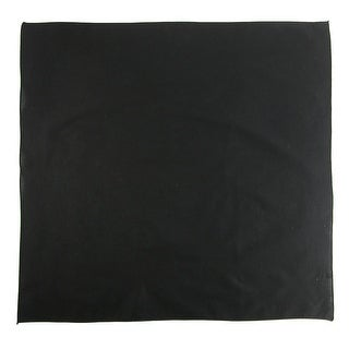 CTM® 27 Inch Extra Large Cotton Solid Color Bandana - one size