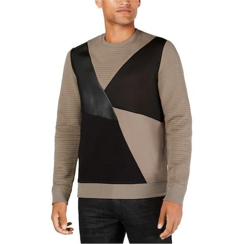 I-N-C Mens Mixed Media Sweatshirt