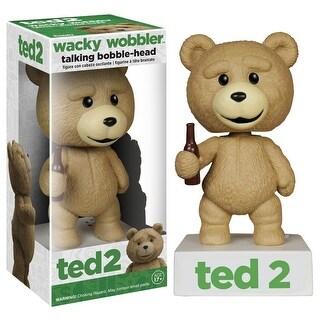 Ted 2 Funko Wacky Wobbler Bobble Head Talking Ted
