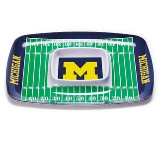 Bsi Products Inc Michigan Wolverines Chip And Dip Tray Chip And Dip Tray