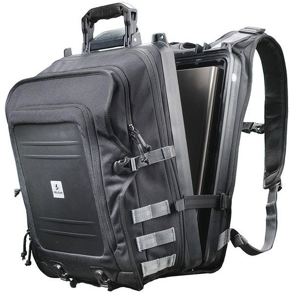 Pelican 0U1000-0003-110 Black Elite Storage Backpack For Laptop