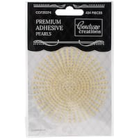 Couture Creations Self-Adhesive Pearls 2Mm 424/Pkg-Champagne