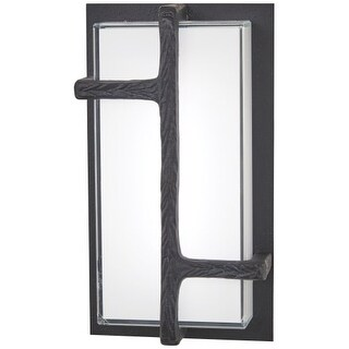 """Kovacs P1340-039-L Sirato 16"""" Tall Integrated LED Outdoor Wall Sconce with Miter"""