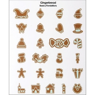 Cricut Mini Seasonal Shape Cartridge-Gingerbread