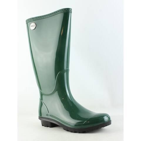 UGG Womens Shaye Pine Rainboots Size 5