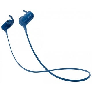 Sony MDRXB50BS/L Bluetooth Wireless Extra Bass Sports Earbuds, Blue