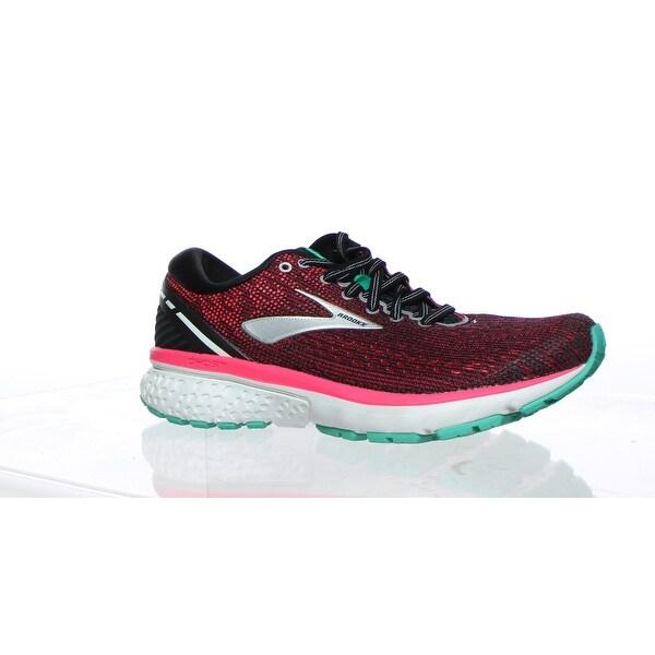 Black/Pink/Aqua Running Shoes Size