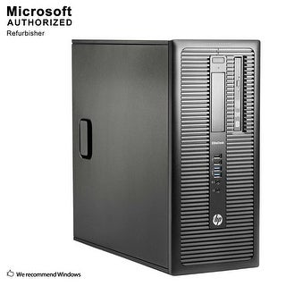 HP 600G1 TW, Intel i5-4570 3.2G, 16GB DDR3, 120GB SSD+3TB, USB 3.0, DVD, WIFI, BT 4.0, +1GB Graphics, W10P64(EN/ES)-Refurbished