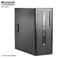 HP ProDesk 600G1 TW Intel i3-4130 3.40GHz, 8GB RAM, 500GB HDD, DVD, WIFI, BT 4.0, HDMI Adapter, VGA, DP, WIN10P64(EN/ES)