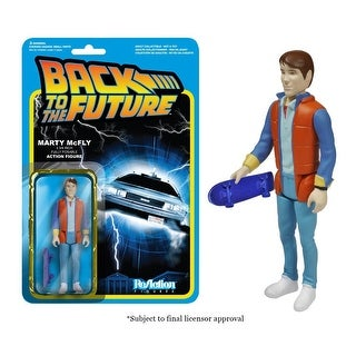 """Reaction Back To The Future Marty Mcfly 3.75"""" Action Figure - multi"""