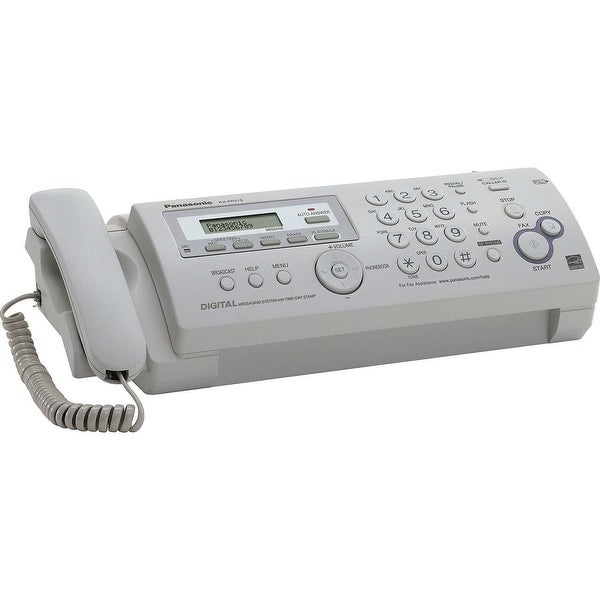 Shop Panasonic Kx Fp215 Plain Paper Fax Machine Free