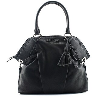 Nine West Soft Focus Women Synthetic Black Satchel