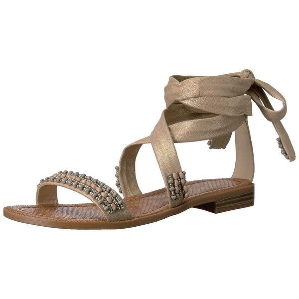 Nine West Womens Xoanna Open Toe Casual Slide Sandals