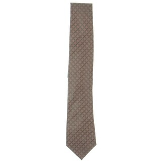 Kenneth Cole Reaction Mens Regular Tie Silk Pattern - o/s