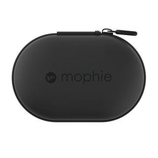 mophie Power Capsule Made For Wireless Headphones Fitness Trackers - Black