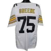 Joe Greene unsigned White TB Custom Stitched Pro Style Football Jersey XL c74fe8950