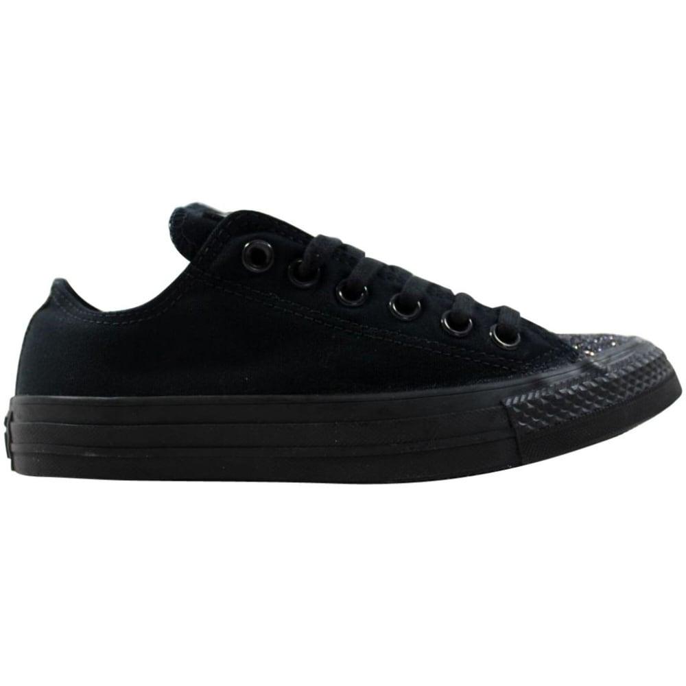 black on black converse womens