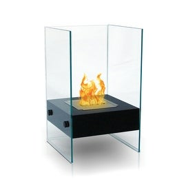 Hudson (Black) Bio Ethanol Ventless Fireplace