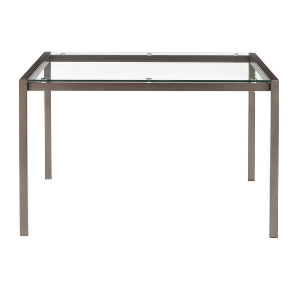 Carbon Loft Yadriel Industrial Dining Table