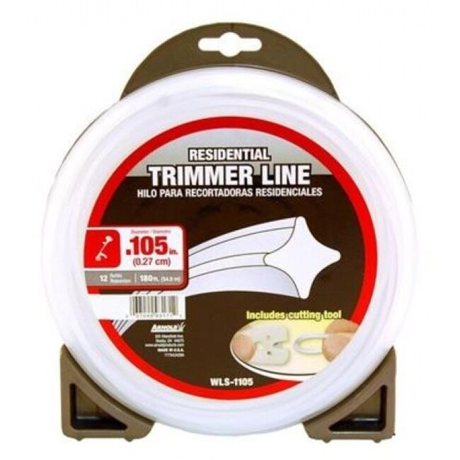 Arnold WLS-1105 Residential Trimmer Line, .105, 180'