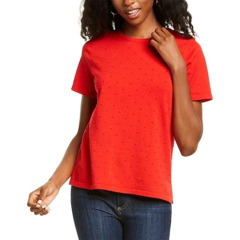 Anne Klein Popcorn Knit T-Shirt