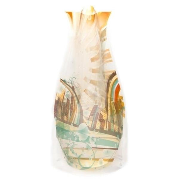 Modgy 66118x2 Myvaz Expandable Flower Vase Sun City-Pack of 2