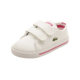 Lacoste Infant Marcel 117 Sneakers in White/Pink