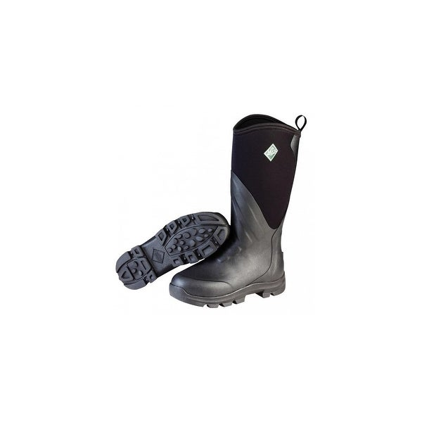 Muck Boots Black Mens Muck Grit Work Boot w/ Rubber Cup Outsole - Size 15