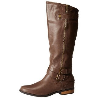 Rampage Womens Hansel Closed Toe Knee High Fashion Boots