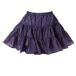 Richie House Little Girls Spruce Lightweight Ruffled Skirt 4