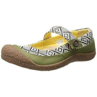 Keen Womens Harvest Leather Pattern Mary Janes - 6