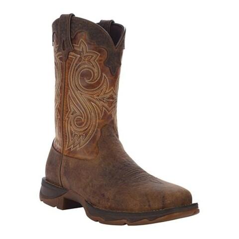 """Durango Boot Women's RD3315 10"""" Boldly Flirtatious Boot Dark Brown/Sunset Brown"""