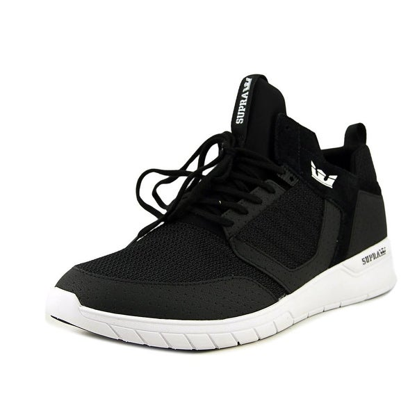 Supra Method Men Round Toe Synthetic Black Skate Shoe