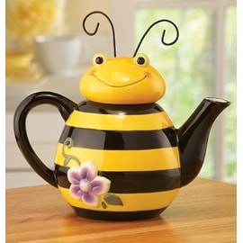 Bee Shaped Ceramic Kitchen Teapot