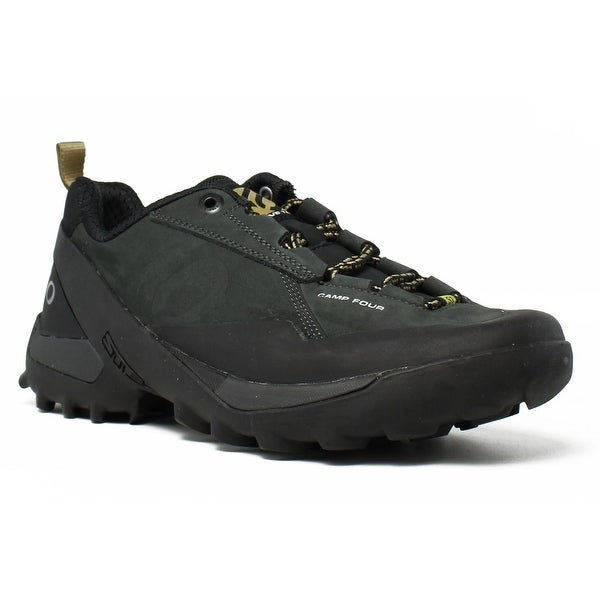 036021daa9 Shop New Five Ten Mens Camp Four Black Khaki Trail Shoes Size 6 ...