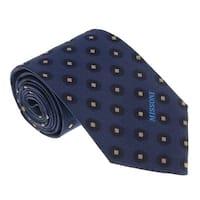 Missoni U5027 Navy  Polka Dot 100% Silk Tie - 60-3