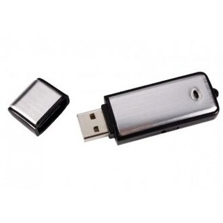 Spytec Usb Flash Drive Audio Recorder 8Gb With 4 Hour Battery Life