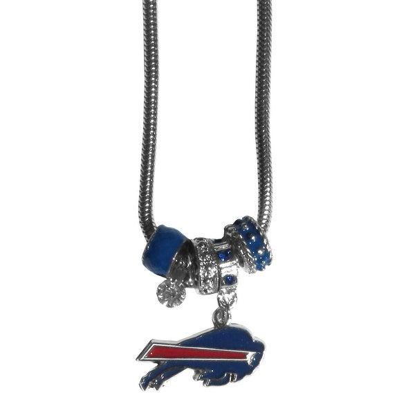 Buffalo Bills Necklace Euro Bead Style
