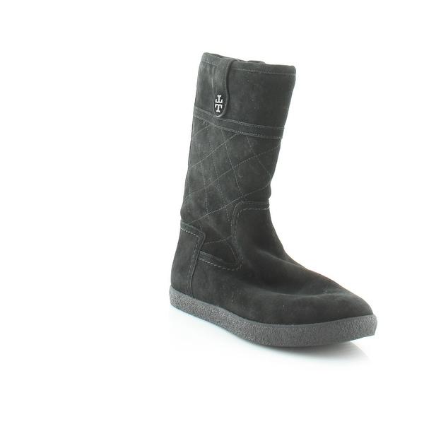 01da756b972 Shop Tory Burch Alana Women s Boots Black - 7 - Free Shipping Today ...