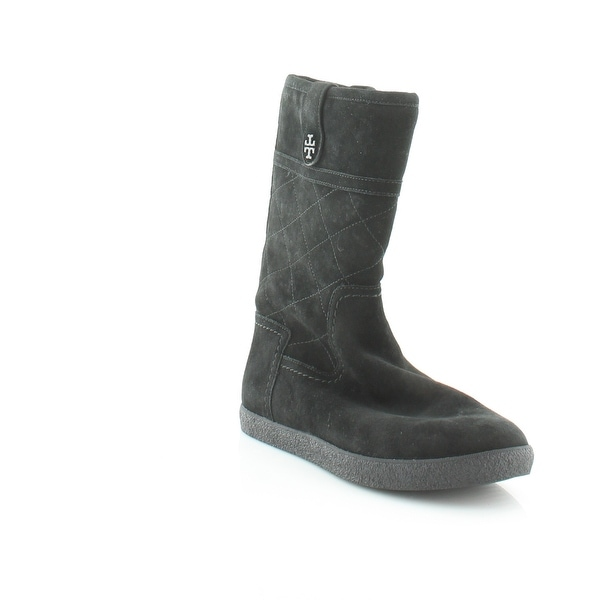 7a291673956c2 Shop Tory Burch Alana Women s Boots Black - 7 - Free Shipping Today ...