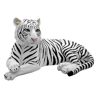 Ghost Tiger - White Tiger Statue