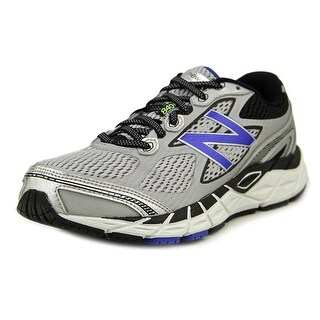 New Balance M840 Men 4E Round Toe Synthetic Silver Walking Shoe