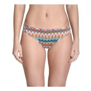 Bikini Lab Womens Juniors Stop This Feeling Ikat Hipster Swim Bottom Separates