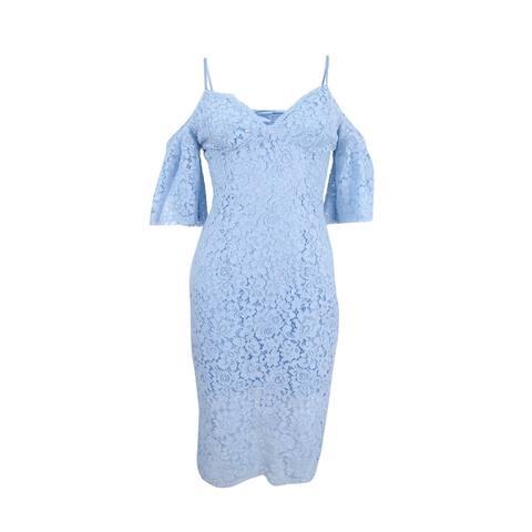 Bardot Women's Cold-Shoulder Lace Dress