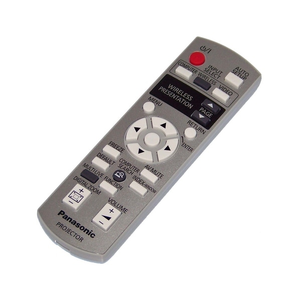 NEW OEM Panasonic Remote Control Originally Shipped With PT-LB80NTU, PTLB80NTU