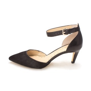 Enzo Angiolini Womens Crystani Pointed Toe Ankle Strap Classic Pumps