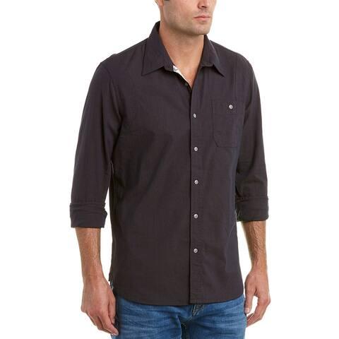 Jachs Action Pleat Classic Fit Woven Shirt