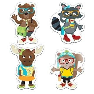 Hipster Pals Cut Outs