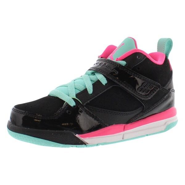 69239394705 Shop Jordan Flight 45 Basketball Preschool Girl's Shoes - 2 M - Free ...