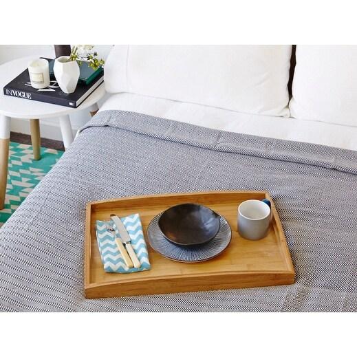 "Eshma Mardini Turkish Cotton Quilt Bed Spread Blanket Bed Cover for All Season 98"" x 77.5"""